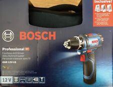 Bosch 0615990GB0 GSR 12V-15 Akku-Bohrschrauber - Blau