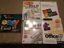 Lot of 5- Microsoft Office 97, Access 97, Excel 97 Manuals, see description