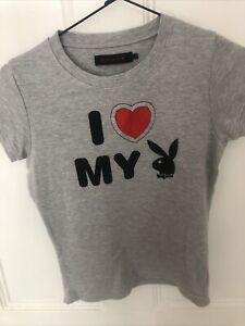 Playboy T Shirt Size 10