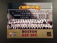BOSTON RED SOX 2004 World Series CHAMPIONSHIP TEAM 11x14 Photo