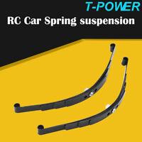 Rock Leaf Spring Suspension Steel Bar For 1:10 RC Car Axial SCX10 Tamiya Truck