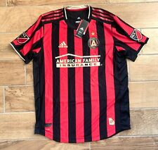 New Authentic Mens Adidas MLS Atlanta United FC Soccer Jersey 7418A Sz L $120