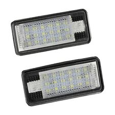 2x 18 LED License Number Plate Light Lamp For Audi A3 S3 A4 S4 B6 A6 S6 A8 Q6L4