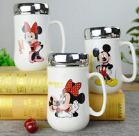 1PC Cartoon Mickey Minnie Ceramic Coffee Milk Tea Mug Cup Great Gift Birthday