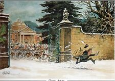 Norman Thelwell's Humourous Mounted Hunting Print - Gone Away