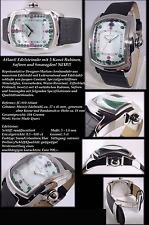 JACQUES cantani edel&luxus Reloj Unisex ATLANT con saphiren-smaragden&rubinen