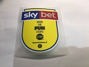 Sky Bet EFL Championship League 1 2 Sleeve Patch Badge 2018-2020 Player Size