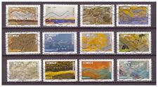 Serie Trabajo de la naturaleza. de Francia sellos adhesivos 2018 yvert 1502/13