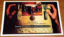 Gretsch 1983 Drum Catalog with Parts Catalog