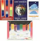 Bundle- 4 Assorted James Rosenquist Authentic and Rare Posters