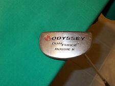 """ODYSSEY DUAL FORCE ROSSIE II MALLET PUTTER - 39"""" LONG- VERY GOOD CONDITION!"""