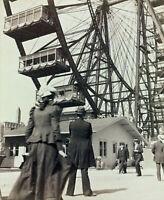 1893 World Columbian Exposition Chicago Illinois Ferris Wheel 8x10 Studio Photo