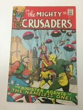 The Mighty Crusaders 5 - Radio Comics (Archie) 1966 - Jaguar/Shield/Black Hood