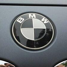 82mm BMW Black White Bonnet Badge Emblem fits most BMW models