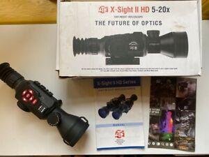 ATN X-Sight II HD 5-20x Digital Day/Night Riflescope - Black