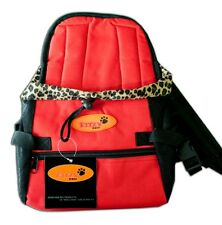 Pet Carrier Soft Sided Small Cat / Dog Comfort RED   Travel Bag