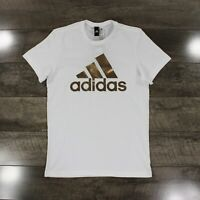 Adidas Badge Of Sport T-Shirt CV4509 In White RRP £22