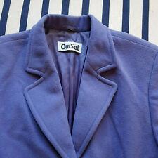 Wool and Cashmere! Hübscher Kurzmantel von Oui Set, 40, lavendel