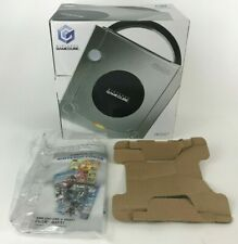 Nintendo Gamecube Platinum Silver System Console Replacement Box & Manual ONLY