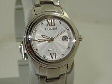 citizen eco drive ladies swarovski crystal watch FE1130-80A
