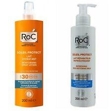 RoC SOLARI Lozione Spray Idratante SPF30+OMAGGIO Latte DOPO SOLE Rinfrescante Ri