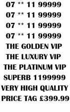 GOLD LUXURY VIP PLATINUM RARE 99999 BUSINESS MOBILE NUMBER -  PLATINUM 99999 END