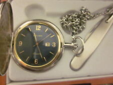 Vintage Colibri Pocket watch ,Japan Movement #2115 Battery Operated,Working Cond