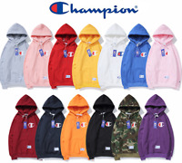 Embroidered Sweatshirts Hoodie Hooded Women's Men's Champion Long Sleeve Sweater