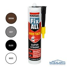 More details for soudal fix all high tack hybrid polymer sealant adhesive various colours