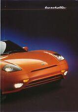 Fiat Barchetta 1995-96 original UK Sales Poster