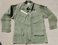Wartime Special Forces Uniform Top with ARVN Airborne Wings