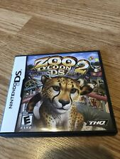 Zoo Tycoon 2 DS (Nintendo DS, 2008) Tested & Works VC2