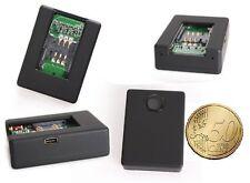 MICROSPIA AMBIENTALE N 9 GSM MICRO ATTIVAZIONE AUDIO VOCALE CIMICE SIM CARD SPIA