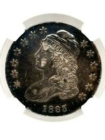 1835 Capped Bust Half Dollar(50c) NGC XF-40 Fully Toned  Silver US Coin.