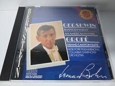 GERSHWIN ~ RHAPSODY ~ BERNSTEIN ~ MK42264 ~ 1986 LIKE NEW CD
