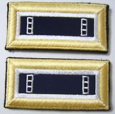 ARMY OFFICER SHOULDER BOARDS CHIEF WARRANT OFFICER CWO3 JAG CORPS MALE NIP