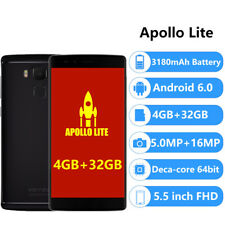 Vernee Apollo Lite Helio X20 Android 4G+ Smartphone 4G+32G Type-C Teléfono Móvil
