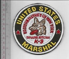 US Marshal Service K-9 Explosive Detection Canine Eastern District NY Vel hooks