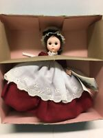 Vintage Marme Little Women MADAME ALEXANDER Doll with tag  Box Stand #415