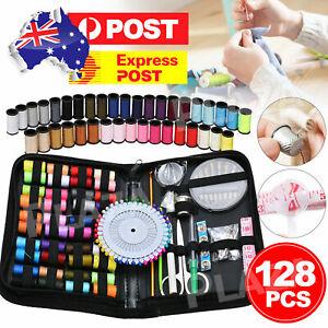 Sewing Kit 128Pcs Portable Mini Premium Travel Home Beginner Emergency