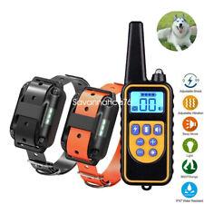 Electric Shock Pet Dog Training E-Collar Anti-Bark Obedience Remote Control AU