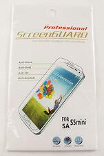 2 x Samsung Galaxy S5 Mini Displayschutz Handyfolie Clear Screen Protector