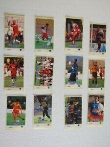 U.N.F.P 1996 Franch Football Bubblegum Stickers Sticker Variants (ef4)