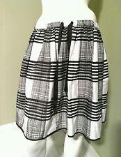 1e1f4267c Joe Fresh Black & White Plaid Skirt~Size ...