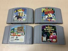 Lot of 4 N64 Nintendo 64 Games Tested & Cleaned FAST Shipping!!
