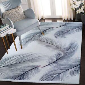 ,  Moderne Waschbarer Teppich mit geometrischem Druck Neu.80x300cm ,,