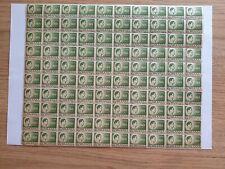 More details for romania 1945 king michael 160l green printing error sheet mnh sg no. 1687