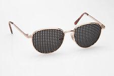 Metall-Rasterbrille 420-EGP quadratischer Raster