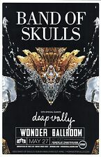 BAND OF SKULLS 2014 POSTER Portland Oregon Concert