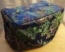 Asian Inspired Brocade Fabric Standard Size Tissue Box Holder Cover